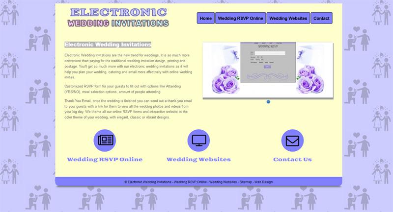 Paperless Invitations Wedding: Electronic Wedding Invitations