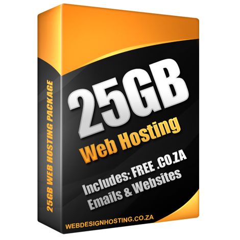 25GB Web Hosting Package