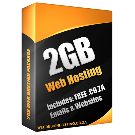 2GB Web Hosting Package