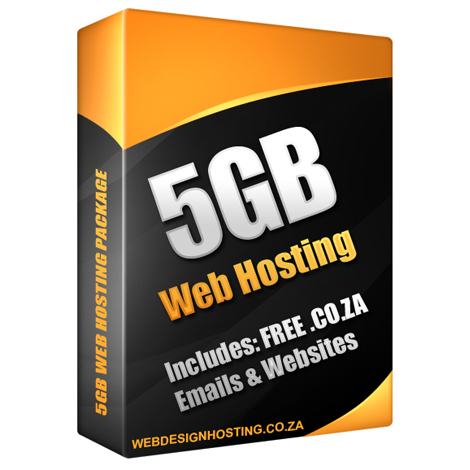 5GB Web Hosting Package
