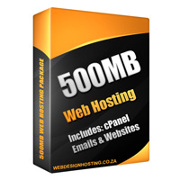 web hosting 500mb